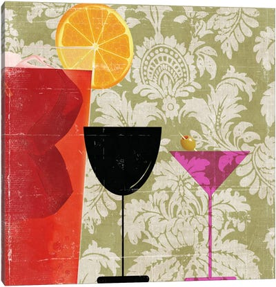 Cocktail II Canvas Art Print