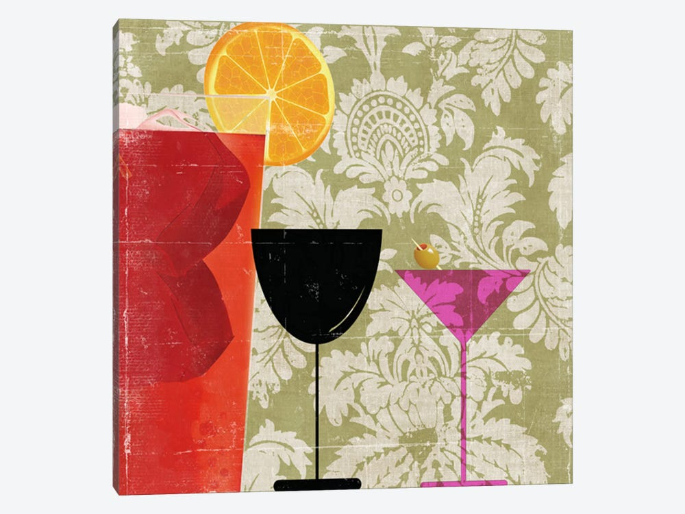Cocktail II by PI Studio 1-piece Canvas Artwork