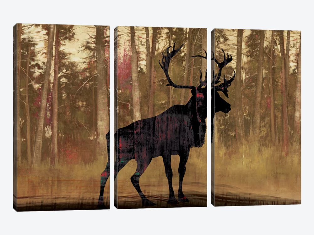 Cold Pine 3-piece Canvas Art Print