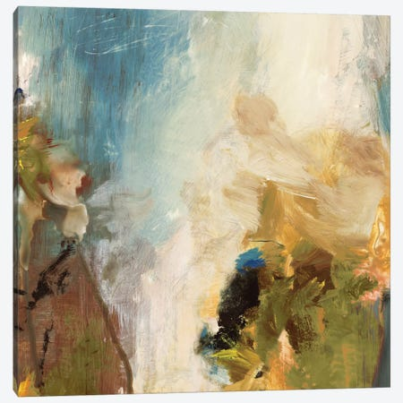 Crashing Waves II Canvas Print #PST193} by PI Studio Canvas Artwork