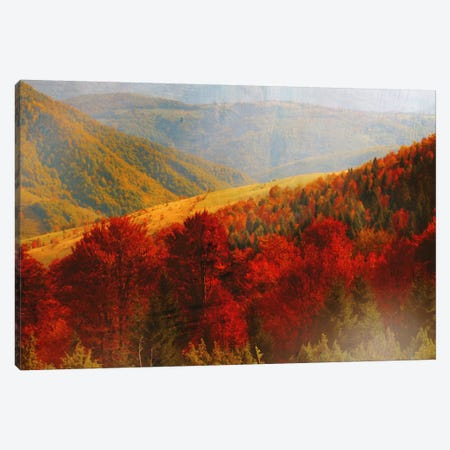 Crimson Country Canvas Print #PST194} by PI Studio Canvas Art Print