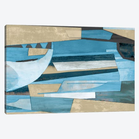 Cubist Shapes Canvas Print #PST201} by PI Studio Canvas Artwork