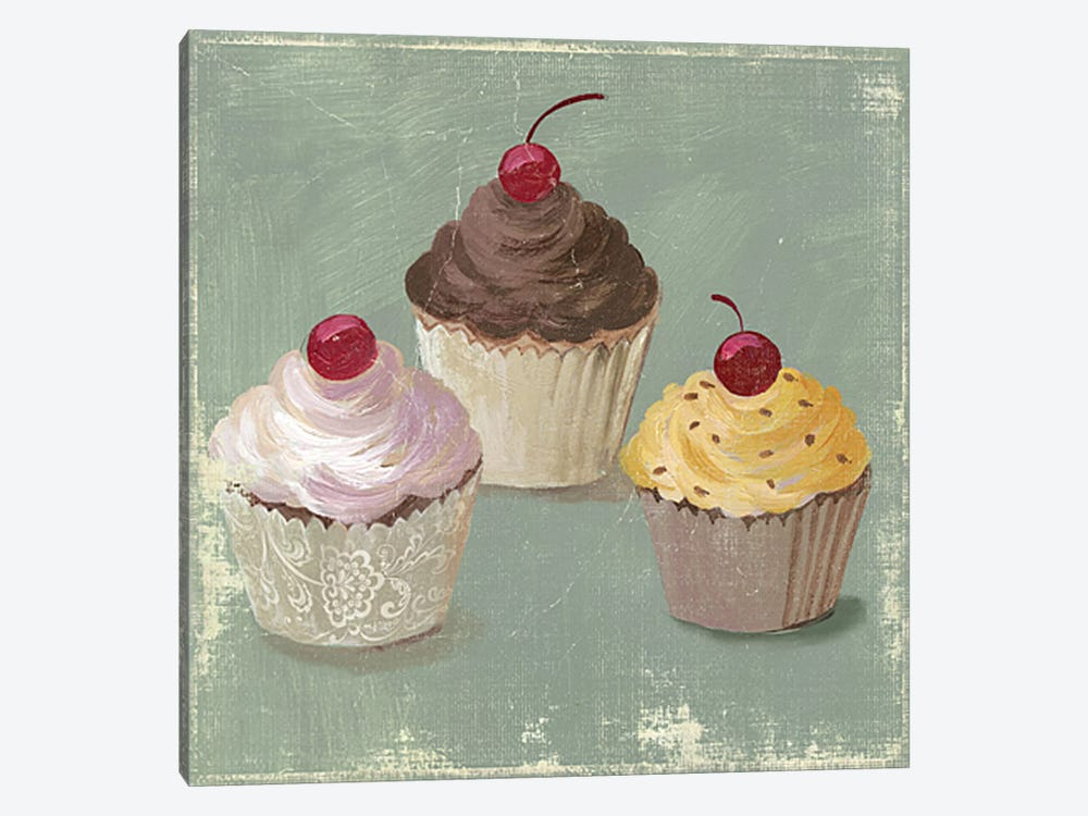 Cupcakes by PI Studio 1-piece Art Print