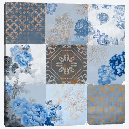 Deft Blue Canvas Print #PST210} by PI Studio Canvas Art Print
