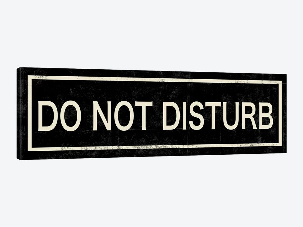 Do Not Disturb II by PI Studio 1-piece Canvas Artwork