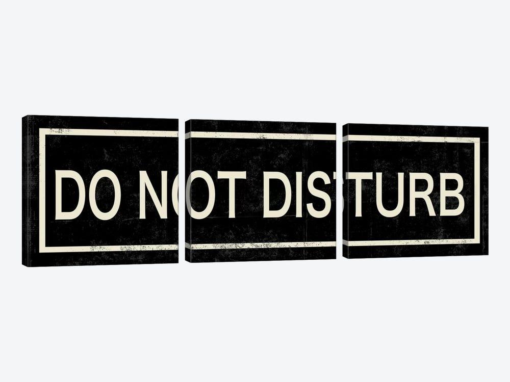 Do Not Disturb II by PI Studio 3-piece Canvas Wall Art
