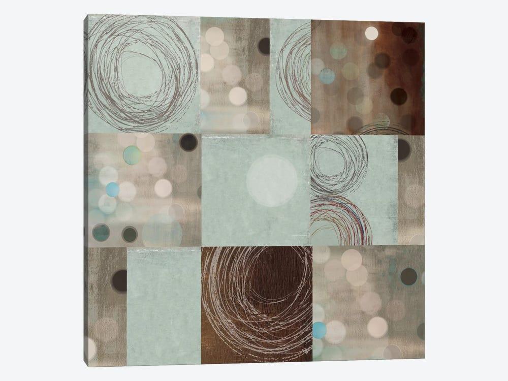 Dots And Swirls by PI Studio 1-piece Canvas Art Print