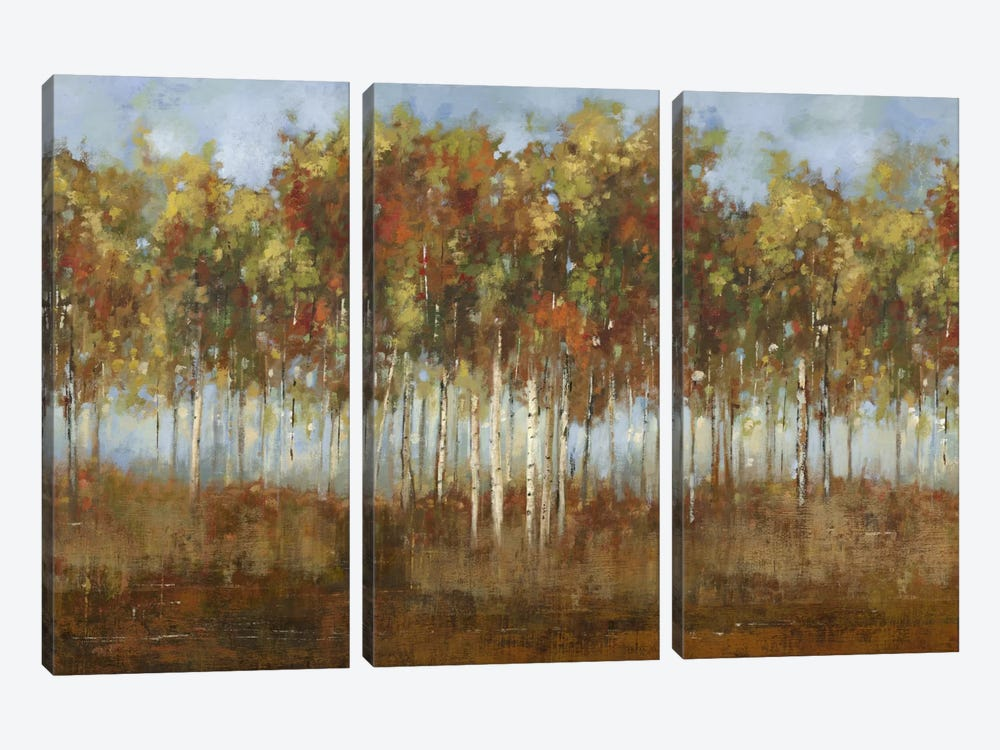 Dream Meadow II by PI Studio 3-piece Canvas Art Print