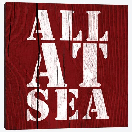 All At Sea Canvas Print #PST23} by PI Studio Canvas Art
