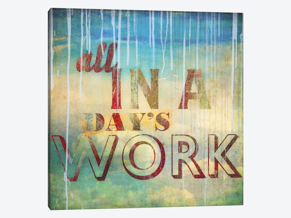 All In A Day's Work by PI Studio 1-piece Canvas Artwork