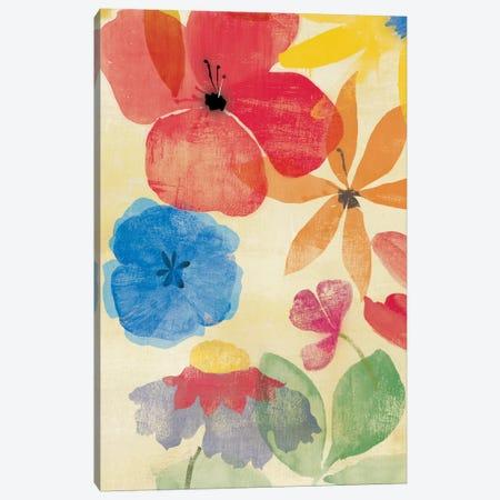 Field Floral I Canvas Print #PST256} by PI Studio Canvas Artwork