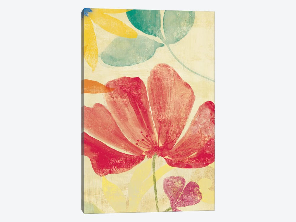 Field Floral II by PI Studio 1-piece Canvas Print