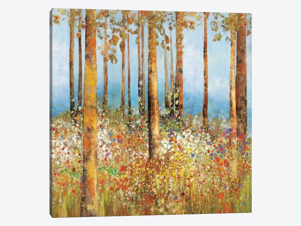 Field Of Flowers I, Square by PI Studio 1-piece Art Print
