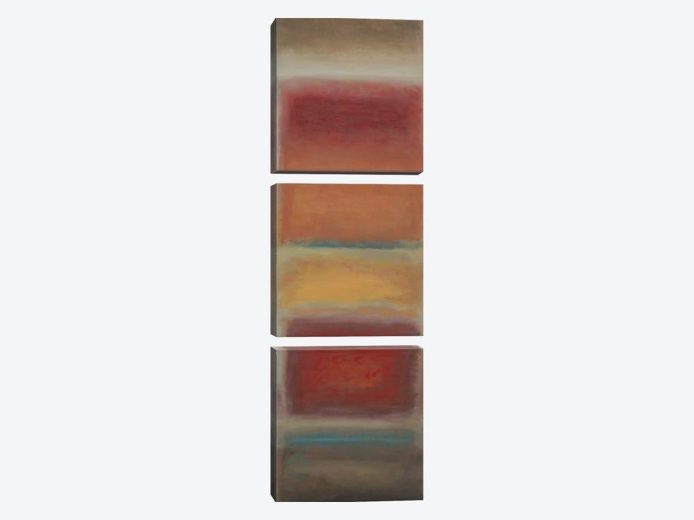 Fields by PI Studio 3-piece Canvas Art Print