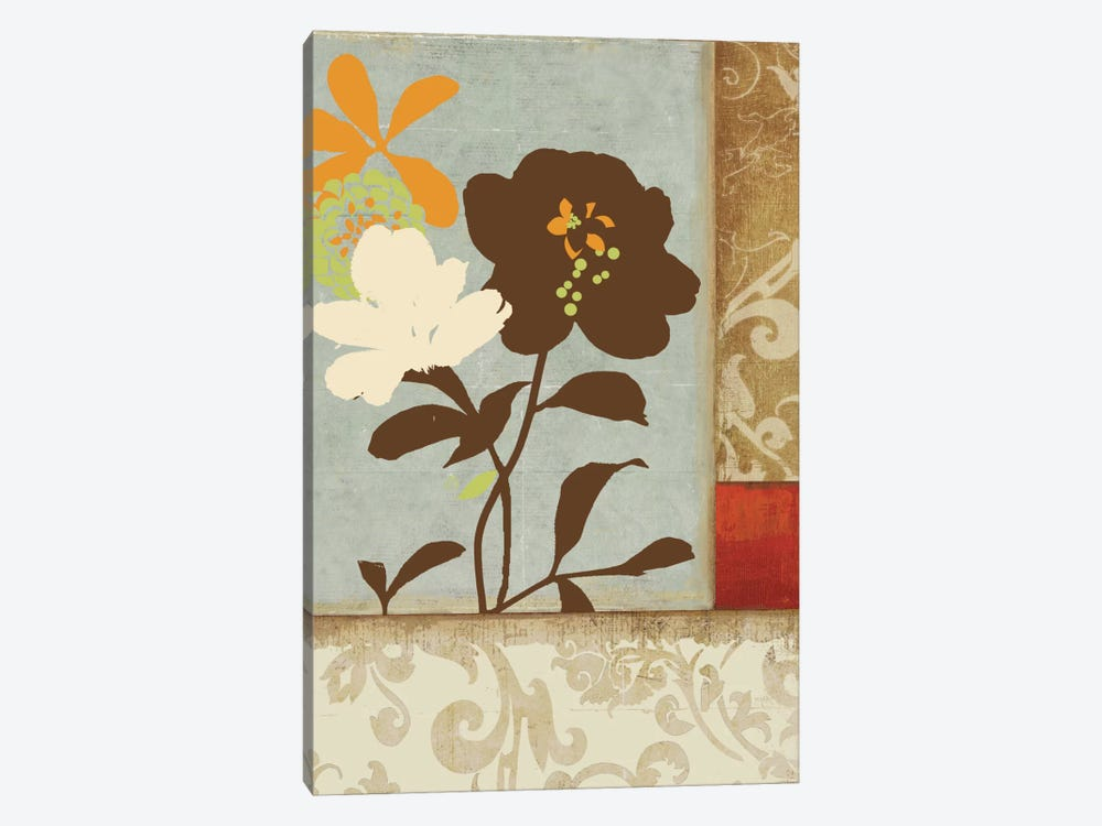 Floral Damask I by PI Studio 1-piece Art Print