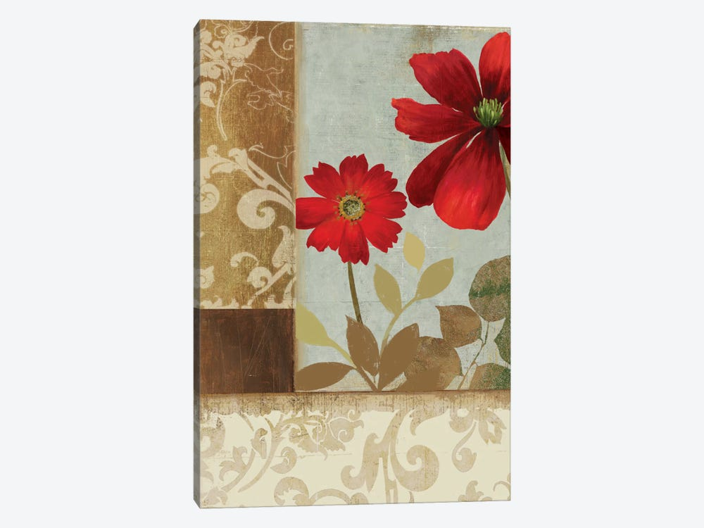 Floral Damask II by PI Studio 1-piece Canvas Wall Art