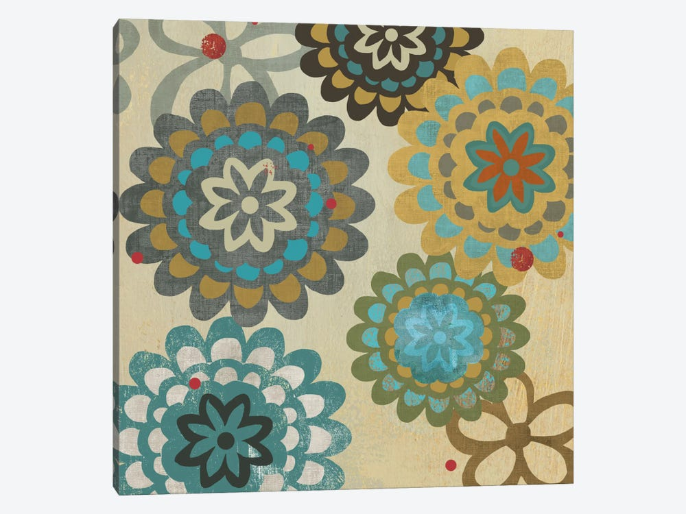 Floral Pattern I by PI Studio 1-piece Canvas Art