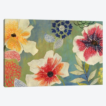 Folk Garden Canvas Print #PST272} by PI Studio Canvas Print