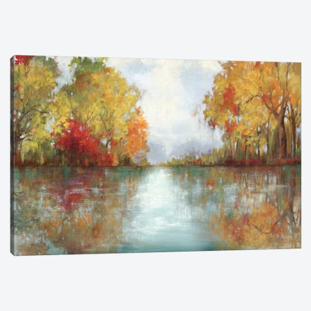 Forest Reflection 3-Piece Canvas #PST273} by PI Studio Canvas Print