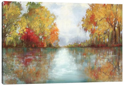 Forest Reflection Canvas Art Print