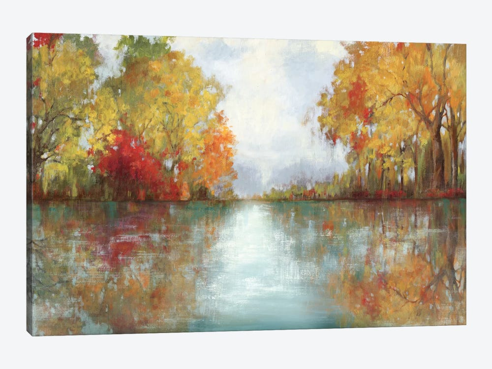 Forest Reflection by PI Studio 1-piece Art Print