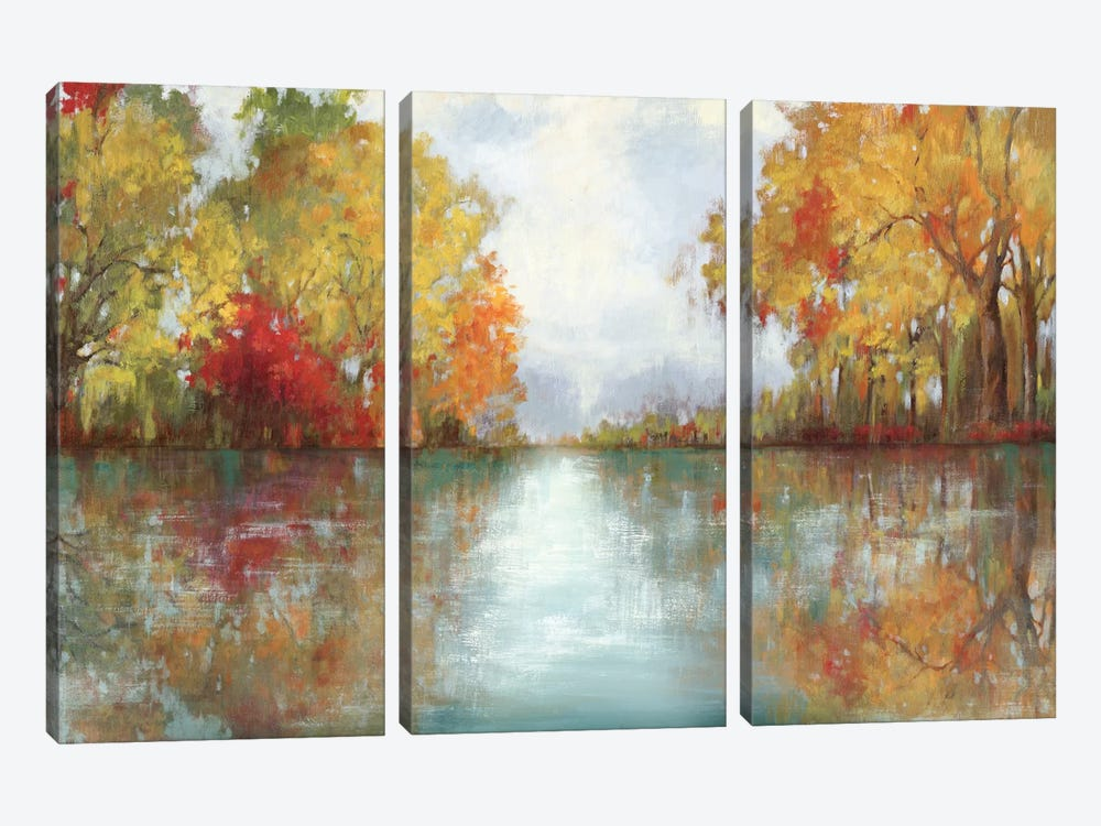Forest Reflection by PI Studio 3-piece Canvas Art Print