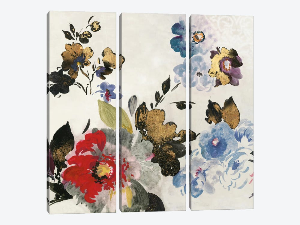French Flower I by PI Studio 3-piece Canvas Wall Art