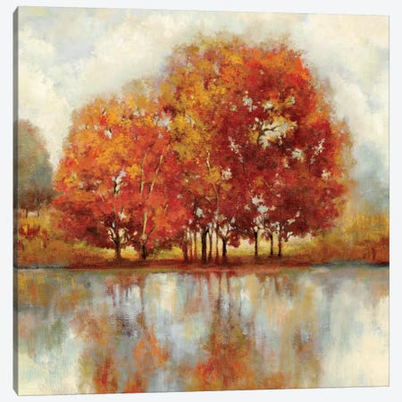 Friends Canvas Print #PST280} by PI Studio Canvas Artwork