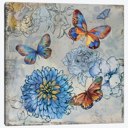 Gently Canvas Print #PST289} by PI Studio Canvas Wall Art