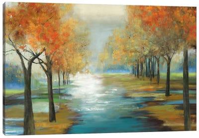 Glittering Sprites Canvas Art Print