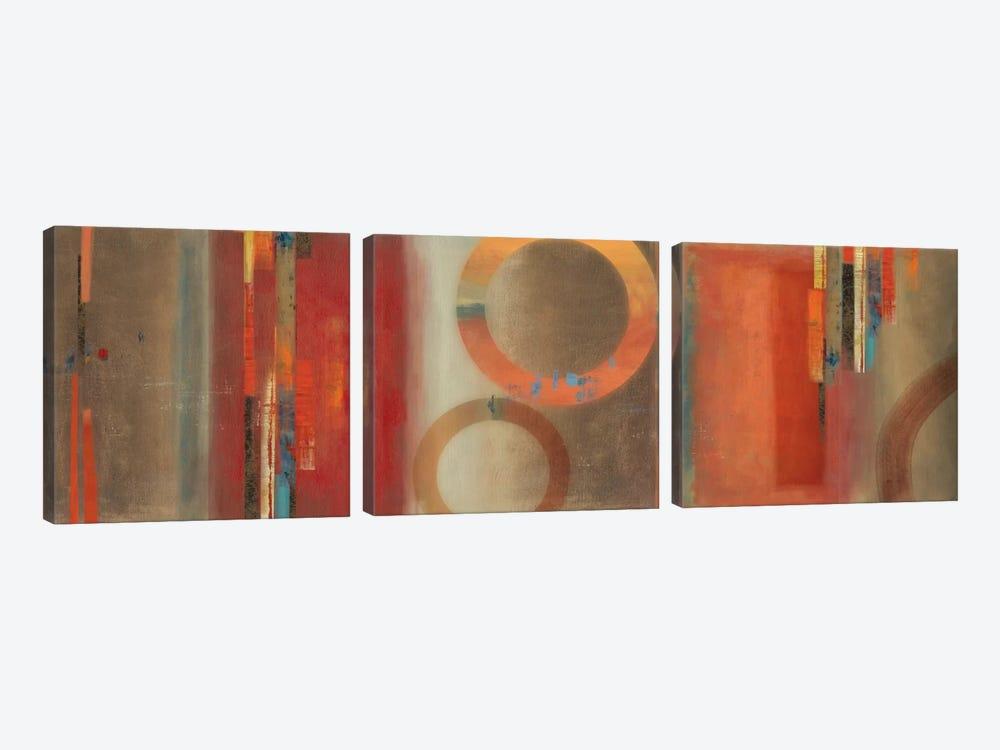 Glow by PI Studio 3-piece Canvas Art Print