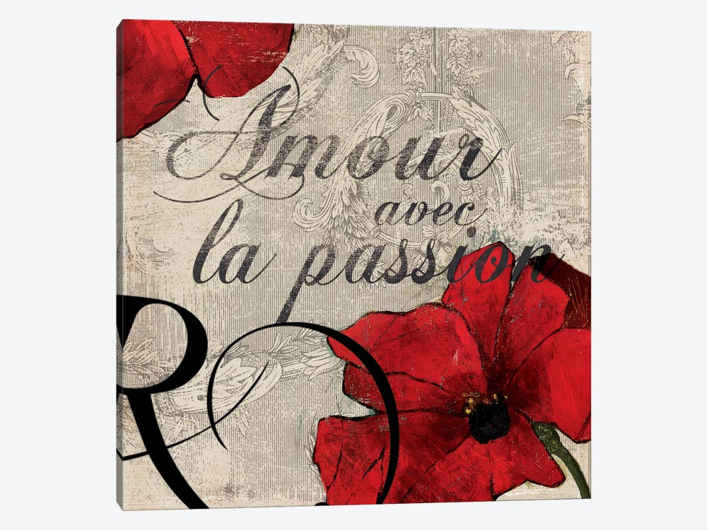 Amour Passion by PI Studio 1-piece Canvas Print