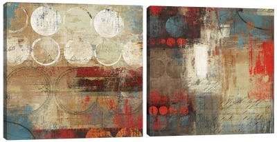 Advice Diptych Canvas Art Print