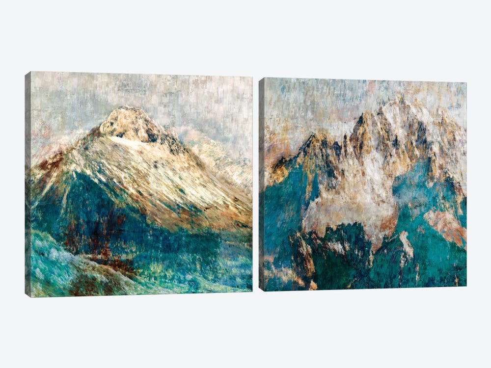 Mountain Diptych by PI Studio 2-piece Canvas Artwork