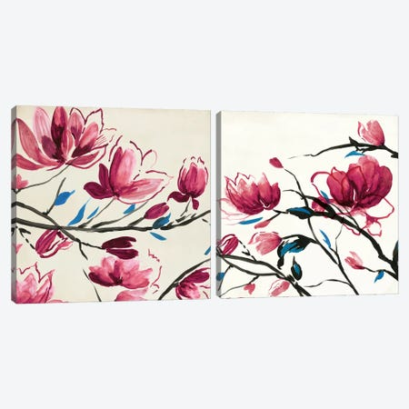 Primavera Diptych Canvas Print Set #PST2HSET007} by PI Studio Canvas Art Print