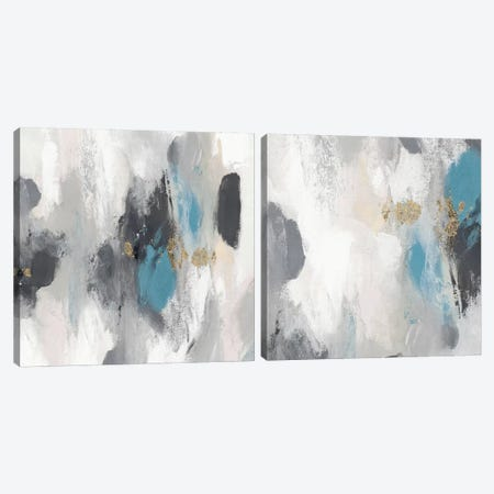 Gray Days Diptych Canvas Print Set #PST2HSET010} by PI Studio Canvas Art Print