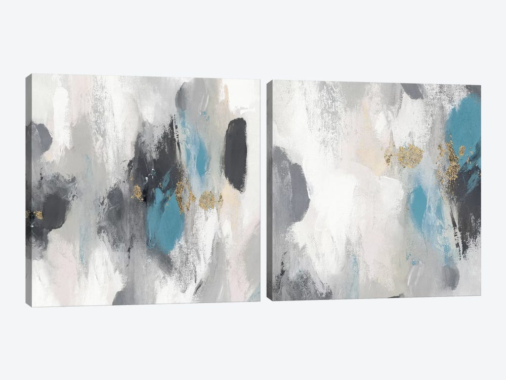 Gray Days Diptych by PI Studio 2-piece Canvas Artwork