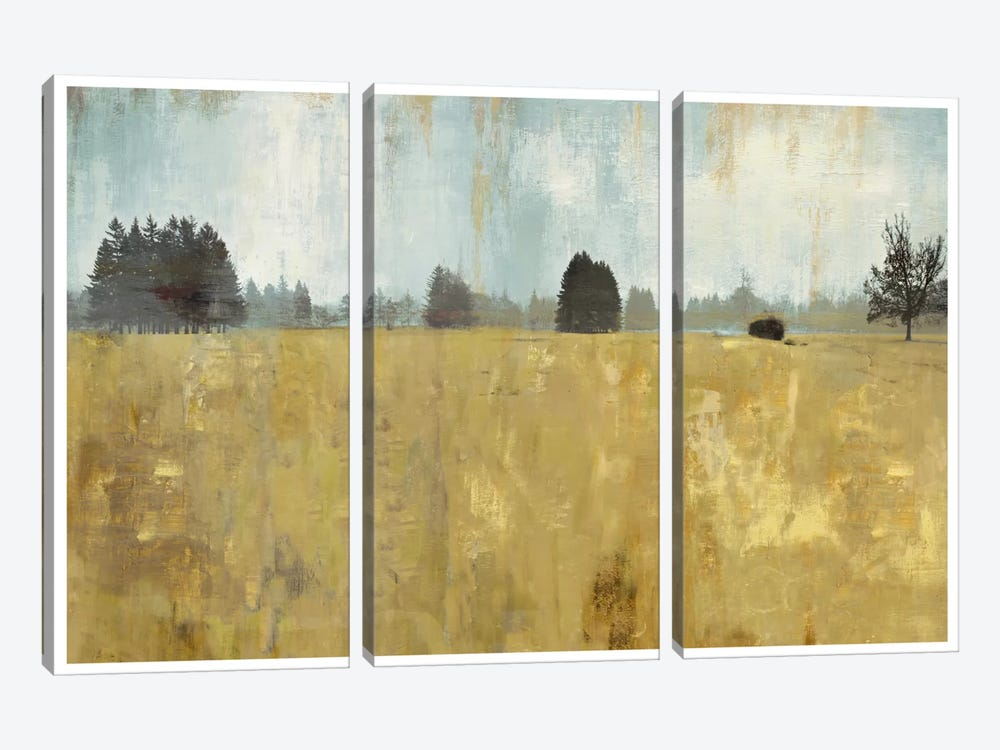 Golden Fields by PI Studio 3-piece Canvas Art