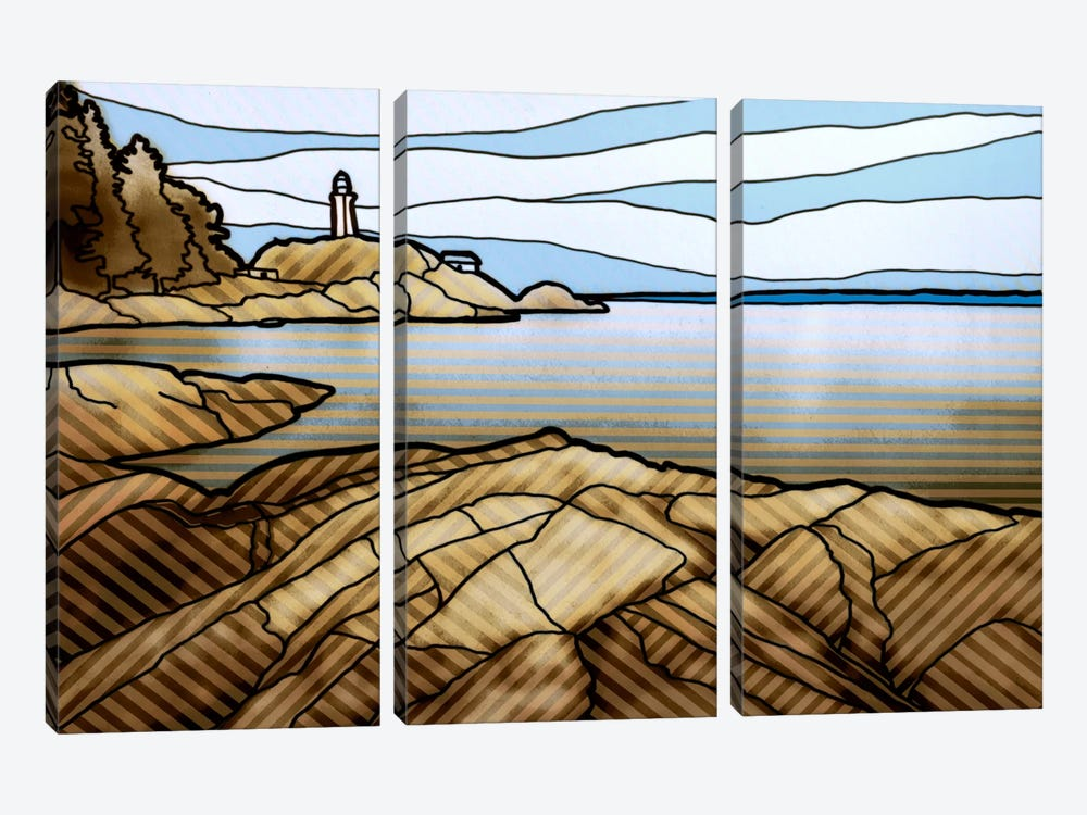 Graphic Lighthouse by PI Studio 3-piece Canvas Artwork