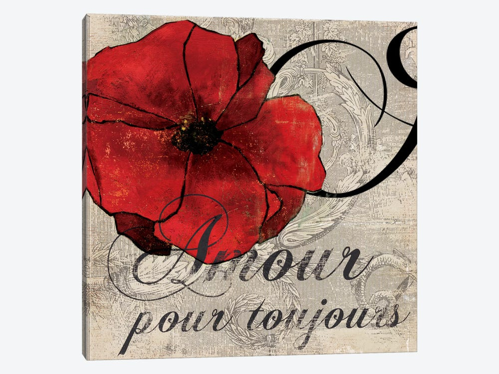 Amour Toujours by PI Studio 1-piece Art Print