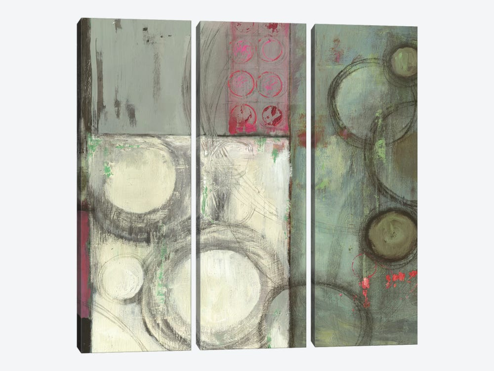 Grey In Motion by PI Studio 3-piece Canvas Wall Art