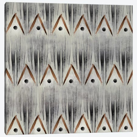 Grey Tribal I Canvas Print #PST312} by PI Studio Canvas Art