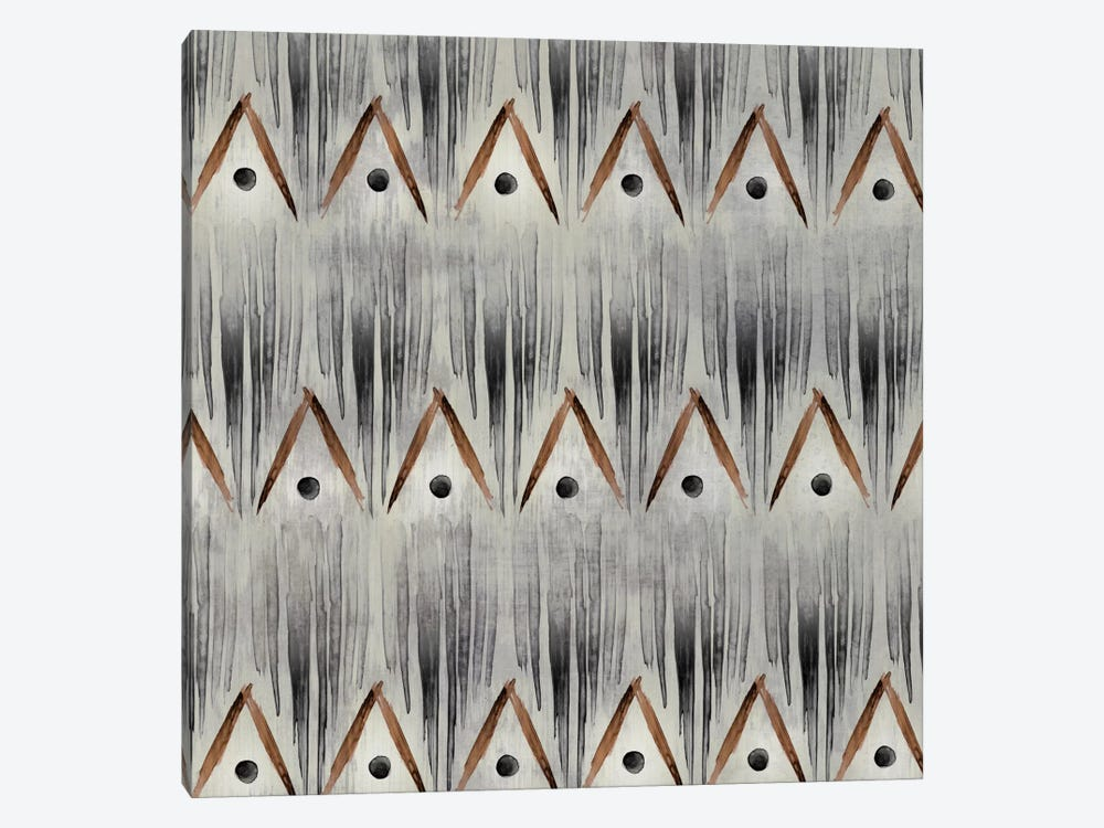 Grey Tribal I by PI Studio 1-piece Canvas Art Print