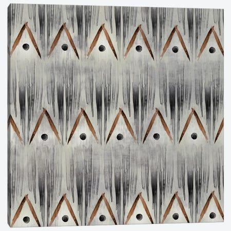 Grey Tribal I Canvas Print #PST312} by PI Studio Canvas Art