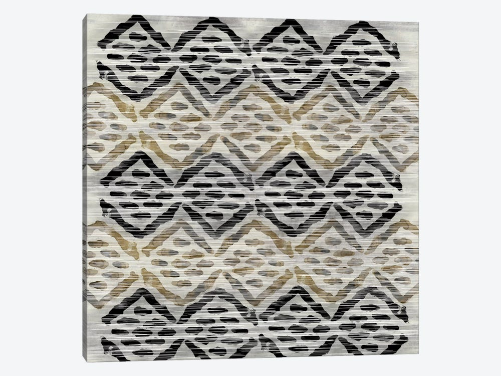 Grey Tribal III by PI Studio 1-piece Canvas Art Print