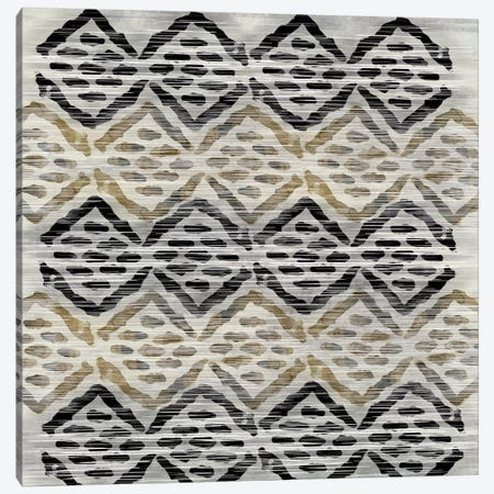 Grey Tribal III Canvas Print #PST314} by PI Studio Canvas Print