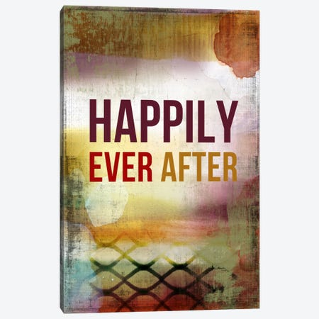 Happily Ever After Canvas Print #PST318} by PI Studio Canvas Wall Art