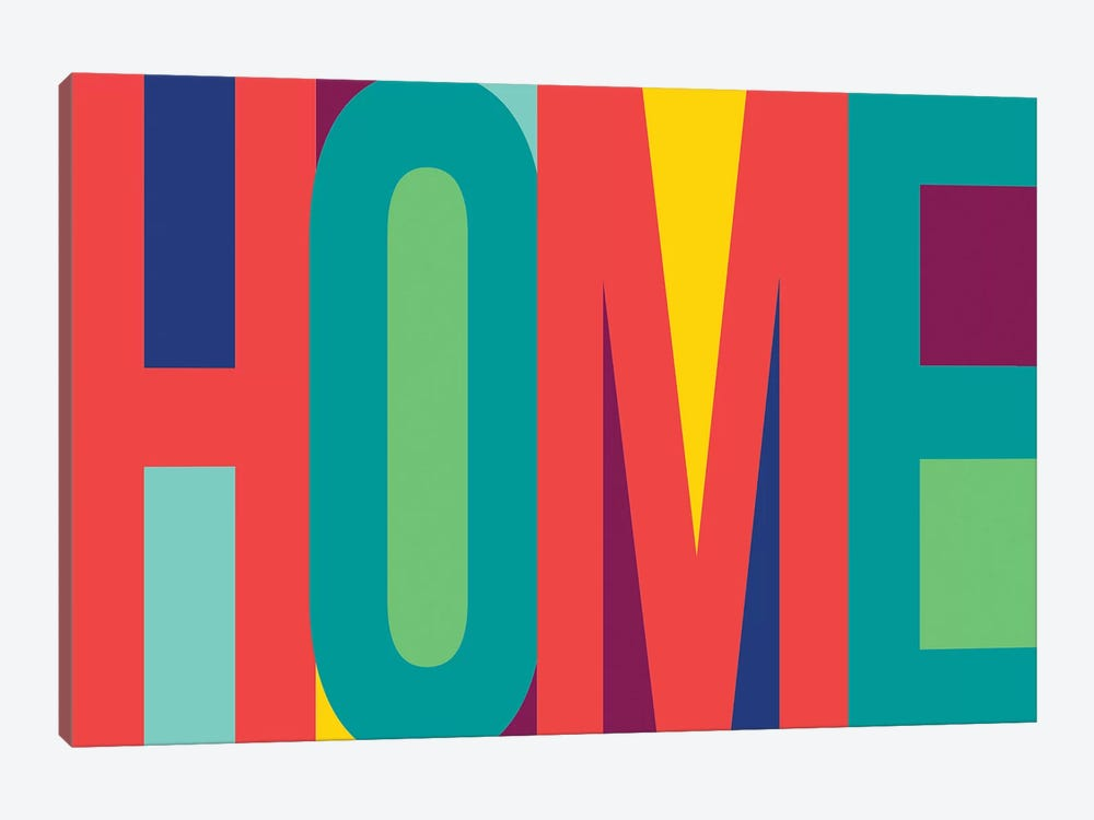 Home by PI Studio 1-piece Canvas Art
