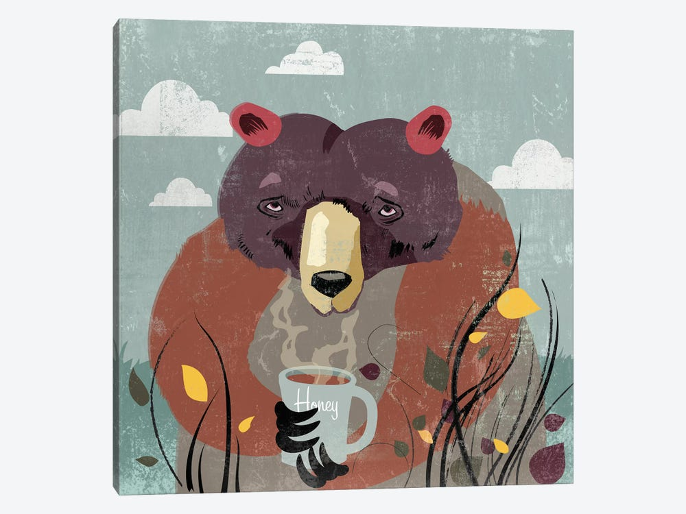 Honey Bear by PI Studio 1-piece Art Print