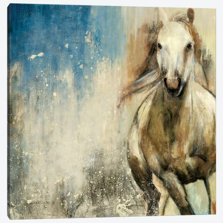 Horses I Canvas Print #PST339} by PI Studio Canvas Art